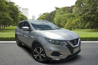 2018 Nissan Qashqai J11 Series 2 ST-L X-tronic Silver 1 Speed Constant Variable Wagon.