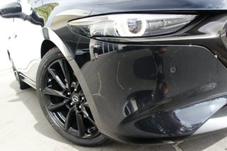 2021 Mazda 3 BP2HL6 G25 SKYACTIV-MT Astina Jet Black 6 Speed Manual Hatchback.