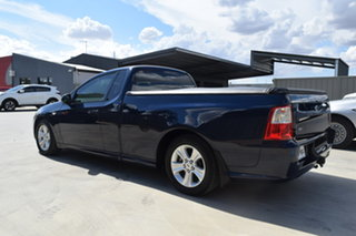 2011 Ford Falcon FG R6 Ute Super Cab Dark Blue 6 Speed Sports Automatic Utility