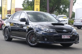 2012 Subaru Impreza G3 MY13 WRX AWD S-Edition Black 5 Speed Manual Sedan.