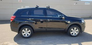 2014 Holden Captiva CG MY14 7 LS Black 6 Speed Sports Automatic Wagon.