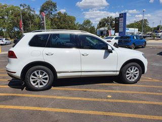 2012 Volkswagen Touareg 7P MY12.5 V6 TDI Tiptronic 4MOTION White 8 Speed Sports Automatic Wagon