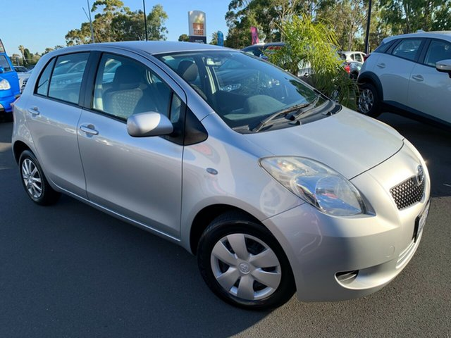 Used Toyota Yaris NCP90R YR Bunbury, 2006 Toyota Yaris NCP90R YR Silver 4 Speed Automatic Hatchback