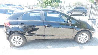 2013 Kia Rio UB MY13 S Black 4 Speed Sports Automatic Hatchback