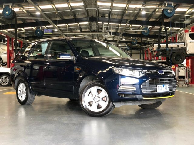 Pre-Owned Ford Territory SZ TX Seq Sport Shift RWD Limited Edition Oakleigh, 2012 Ford Territory SZ TX Seq Sport Shift RWD Limited Edition Blue 6 Speed Sports Automatic Wagon