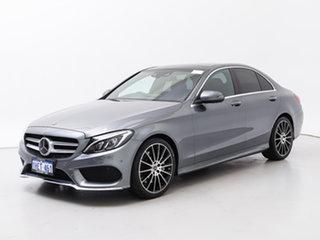 2017 Mercedes-Benz C300 205 MY17.5 Grey 9 Speed Automatic G-Tronic Sedan.