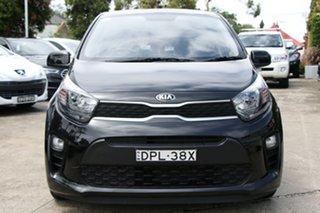 2017 Kia Picanto JA MY18 S (AEB) Black 4 Speed Automatic Hatchback