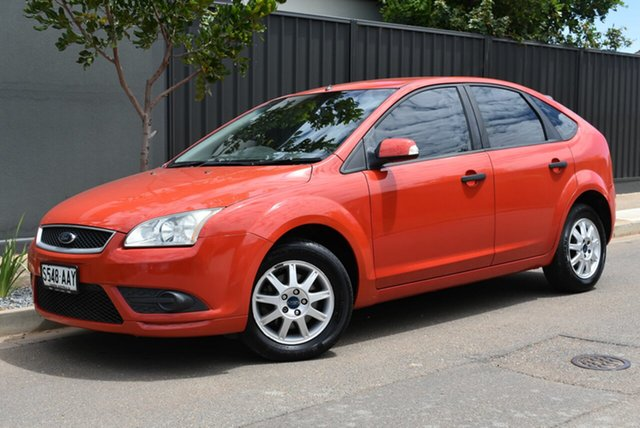 Used Ford Focus LT LX Brighton, 2008 Ford Focus LT LX Red 4 Speed Sports Automatic Hatchback