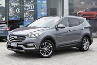 2017 Hyundai Santa Fe DM3 MY17 Highlander Billet Silver 6 Speed Sports Automatic Wagon.