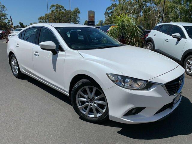 Used Mazda 6 GL1031 Sport SKYACTIV-Drive Bunbury, 2017 Mazda 6 GL1031 Sport SKYACTIV-Drive Pearl White 6 Speed Sports Automatic Sedan