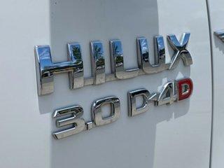 2007 Toyota Hilux KUN26R MY07 SR White 5 Speed Manual Utility
