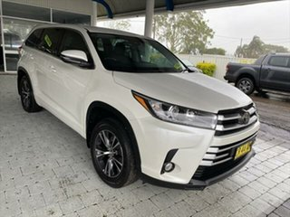 2018 Toyota Kluger GX White Sports Automatic Wagon.
