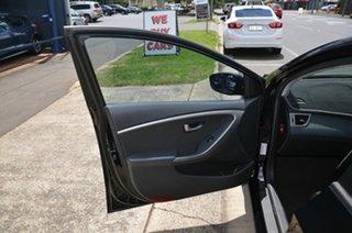 2016 Hyundai i30 GD4 Series 2 Update Active Black 6 Speed Manual Hatchback