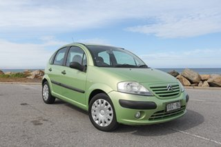 2005 Citroen C3 Exclusive SensoDrive Green 5 Speed Sports Automatic Single Clutch Hatchback.
