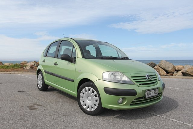 Used Citroen C3 Exclusive SensoDrive Lonsdale, 2005 Citroen C3 Exclusive SensoDrive Green 5 Speed Sports Automatic Single Clutch Hatchback