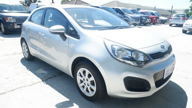 Used Kia Rio UB MY16 S St James, 2016 Kia Rio UB MY16 S Silver 4 Speed Sports Automatic Hatchback