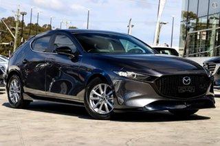 2020 Mazda 3 BP2H76 G20 SKYACTIV-MT Pure Grey 6 Speed Manual Hatchback.