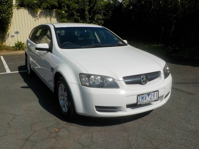 Used Holden Commodore VE MY09.5 Omega Newtown, 2009 Holden Commodore VE MY09.5 Omega White 4 Speed Automatic Sportswagon
