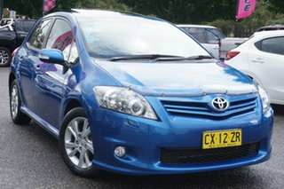 2011 Toyota Corolla ZRE152R MY11 Levin ZR Blue 6 Speed Manual Hatchback.