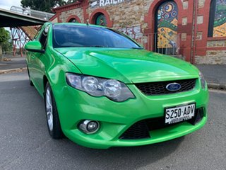 2009 Ford Falcon FG XR6 Ute Super Cab Green 5 Speed Sports Automatic Utility.