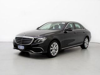 2018 Mercedes-Benz E220 213 MY18 D Black 9 Speed Automatic G-Tronic Saloon.