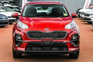 2020 Kia Sportage QL MY21 SX 2WD Red 6 Speed Sports Automatic Wagon.