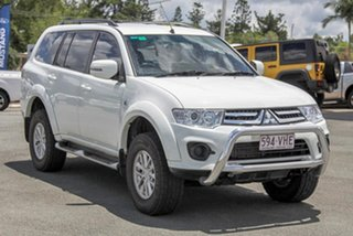 2014 Mitsubishi Challenger PC (KH) MY14 White 5 Speed Manual Wagon