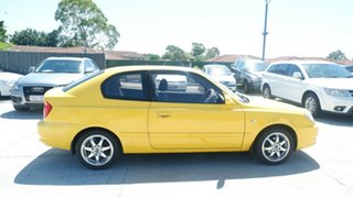 2005 Hyundai Accent LC MY04 GL Yellow 4 Speed Automatic Hatchback