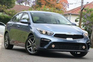 2020 Kia Cerato BD MY21 Sport Gravity Blue 6 Speed Sports Automatic Hatchback.