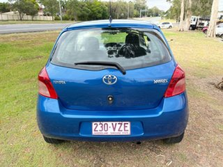 2008 Toyota Yaris NCP90R MY09 YR Blue 4 Speed Automatic Hatchback