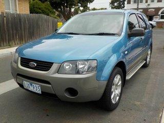 2006 Ford Territory SY SR (RWD) Blue 4 Speed Auto Seq Sportshift Wagon.