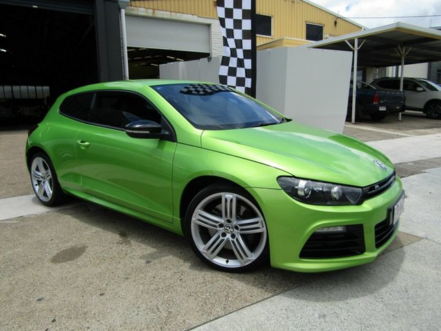 Used Volkswagen Scirocco 1S MY12 R Coupe Moorooka, 2011 Volkswagen Scirocco 1S MY12 R Coupe Green 6 Speed Manual Hatchback