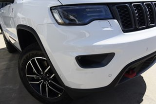 2020 Jeep Grand Cherokee WK MY20 Trailhawk Bright White 8 Speed Sports Automatic Wagon.