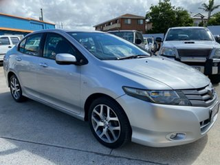 2009 Honda City GM MY09 VTi Silver 5 Speed Automatic Sedan.