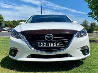 2015 Mazda 3 BM5436 SP25 SKYACTIV-MT Snowflake White Pearl 6 Speed Manual Hatchback.