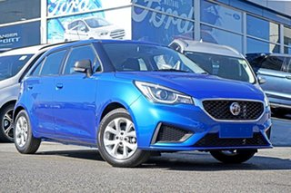 2020 MG MG3 SZP1 MY20 Core (Nav) Blue 4 Speed Automatic Hatchback.
