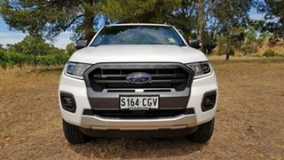 2020 Ford Ranger PX MkIII 2020.7 Wildtrak Arctic White 10 Speed Automatic Double Cab Pick Up.