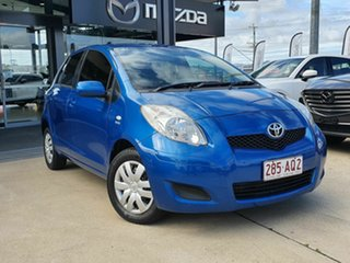 2011 Toyota Yaris YR Blue 4 Speed Automatic Hatchback.