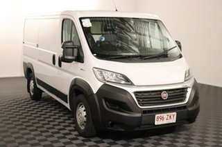 2019 Fiat Ducato Series 6 Low Roof MWB Comfort-matic White 6 speed Automatic Van.