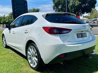 2015 Mazda 3 BM5436 SP25 SKYACTIV-MT Snowflake White Pearl 6 Speed Manual Hatchback