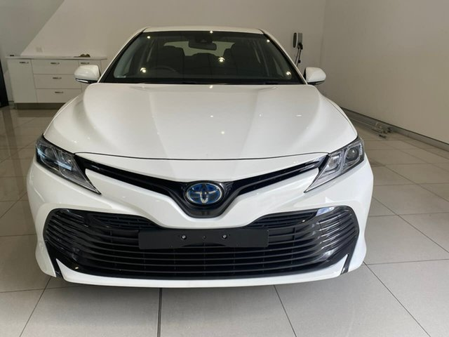 Used Toyota Camry AXVH71R Ascent Aspley, 2019 Toyota Camry AXVH71R Ascent White 6 Speed Constant Variable Sedan Hybrid