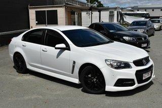 2014 Holden Commodore VF SV6 White 6 Speed Automatic Sedan.