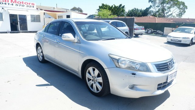 Used Honda Accord 8th Gen V6 St James, 2008 Honda Accord 8th Gen V6 Silver 5 Speed Sports Automatic Sedan