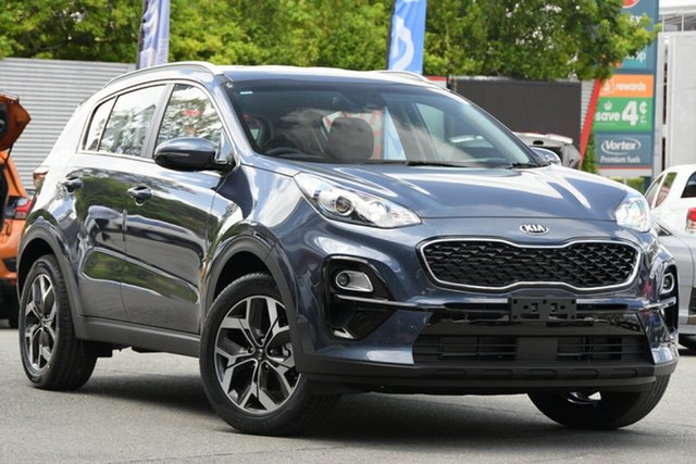 New Kia Sportage QL MY21 SX 2WD Mount Barker, 2020 Kia Sportage QL MY21 SX 2WD Mercury Blue 6 Speed Sports Automatic Wagon