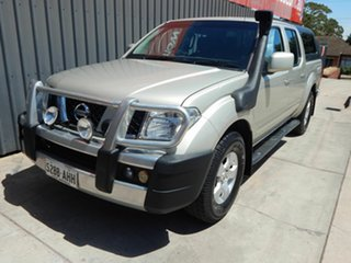 2010 Nissan Navara D40 ST Gold 5 Speed Automatic Utility.