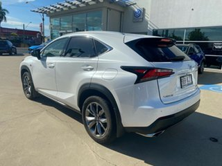 2016 Lexus NX AGZ15R NX200t AWD F Sport White 6 Speed Sports Automatic Wagon.