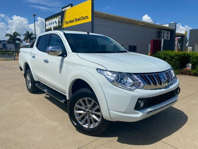 Used Mitsubishi Triton MQ MY17 GLS Double Cab Townsville, 2016 Mitsubishi Triton MQ MY17 GLS Double Cab White 5 Speed Sports Automatic Utility
