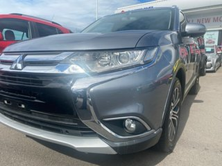 2015 Mitsubishi Outlander ZK MY16 LS 2WD Grey 6 Speed Constant Variable Wagon