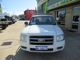 2007 Ford Ranger PJ XL White 5 Speed Manual Trayback.