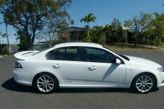 2013 Ford Falcon FG MkII XR6 White 6 Speed Sports Automatic Sedan.